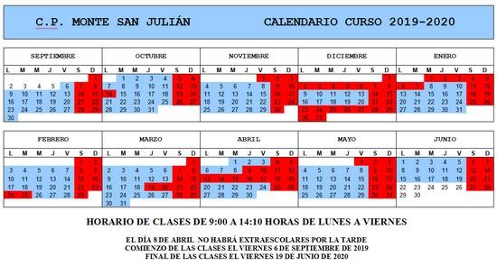 Curso escolar 19-20