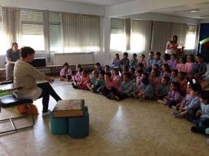 Jornadas culturales Cuentacuentos KV Infantil