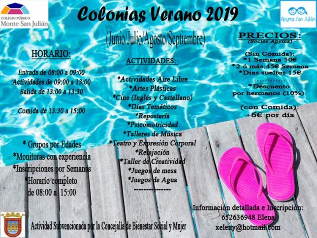 colonias 2019